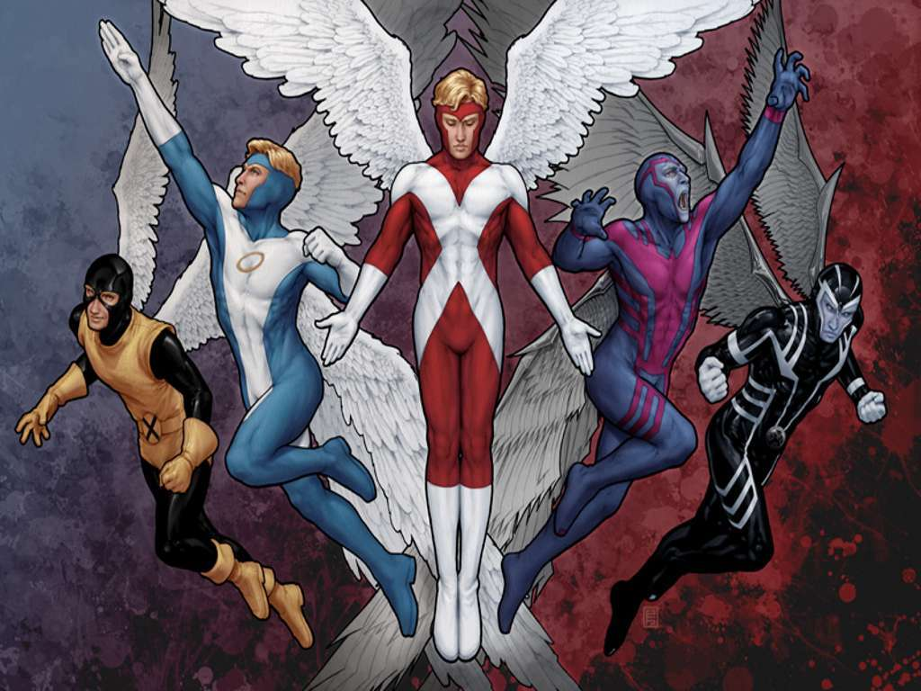 Comics Wallpaper: Archangel - Evolution