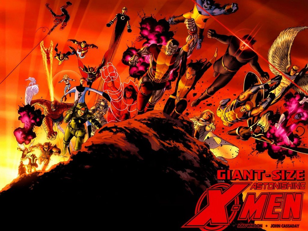 Comics Wallpaper: X-Men (by John Cassaday)