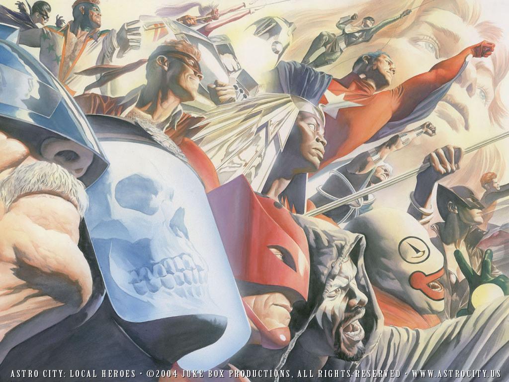 Comics Wallpaper: Astro City - Local Heroes