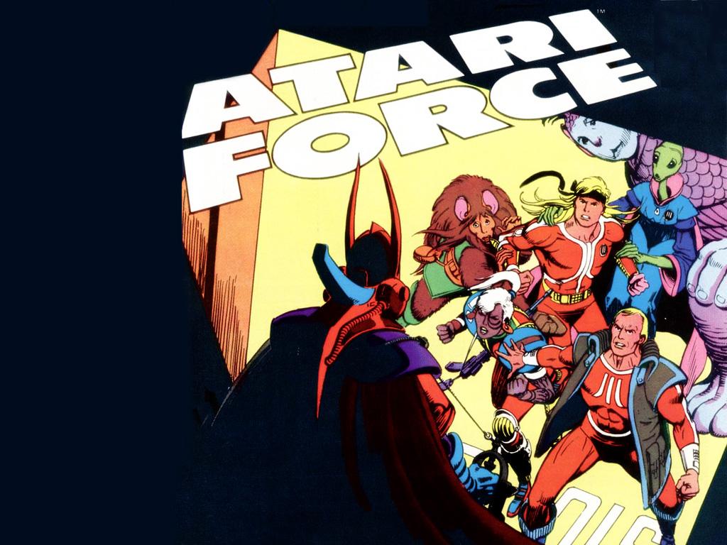 Comics Wallpaper: Atari Force