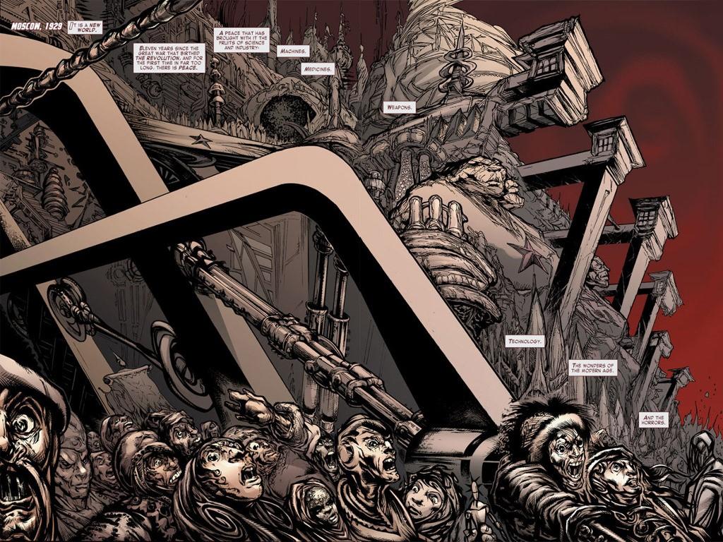 Comics Wallpaper: Atomika
