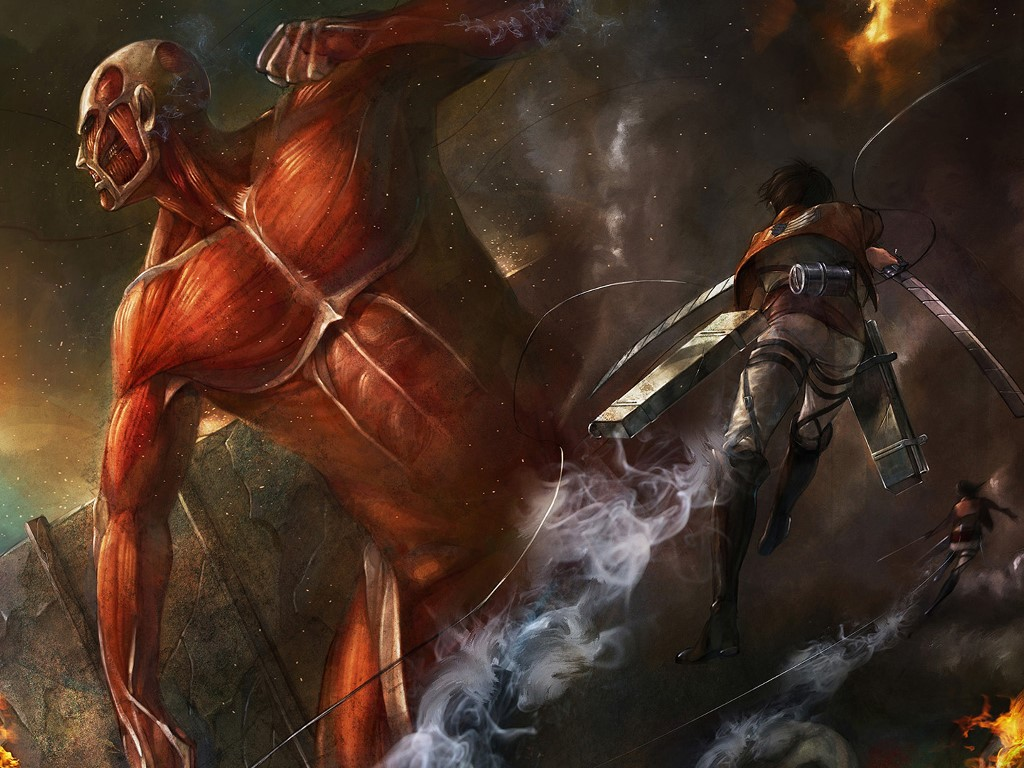 Comics Wallpaper: Attack on Titan - Shingeki no Kyojin