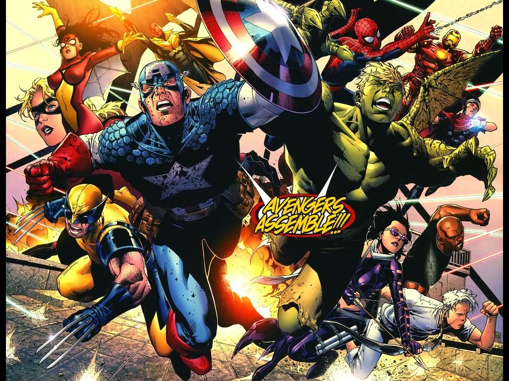 Comics Wallpaper: Avengers Assemble!