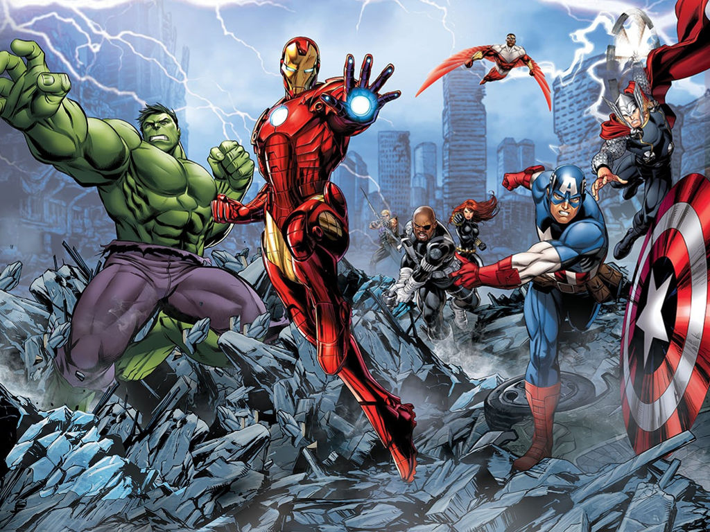 Comics Wallpaper: Avengers Assemble