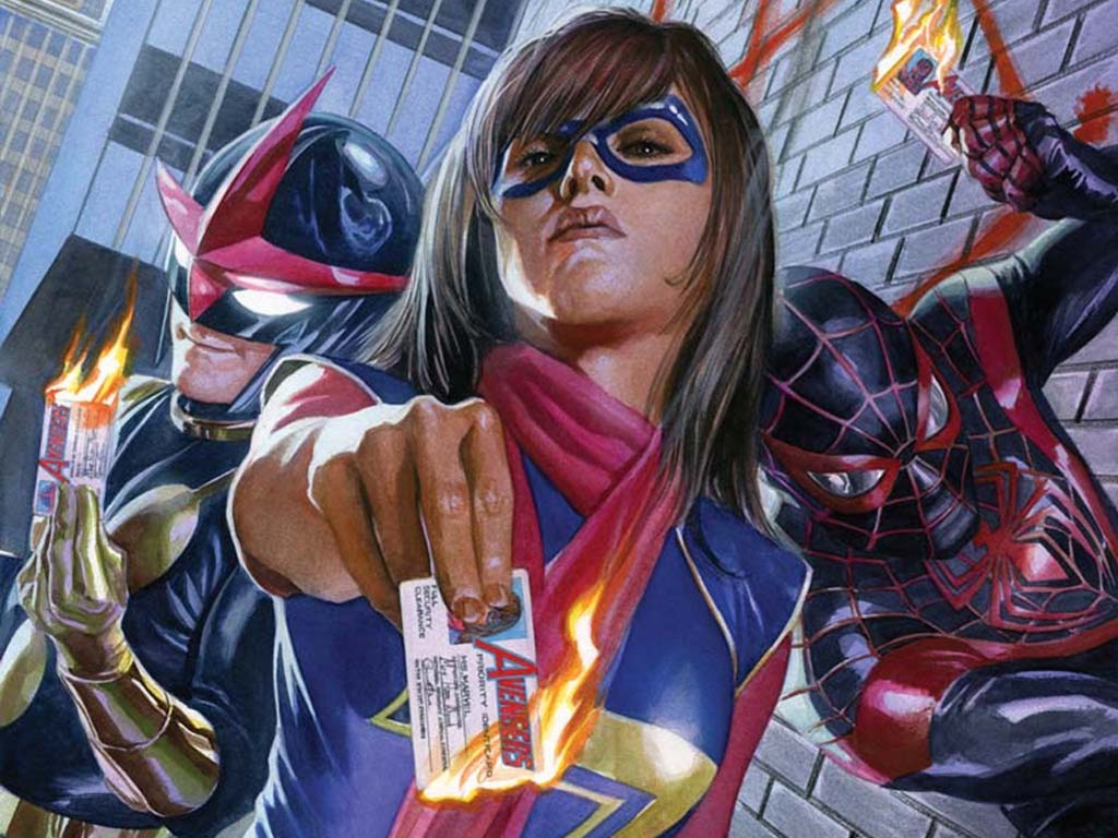Comics Wallpaper: Avengers (by Alex Ross)