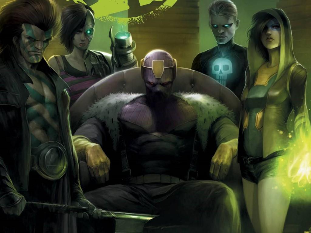 Comics Wallpaper: Avengers Undercover