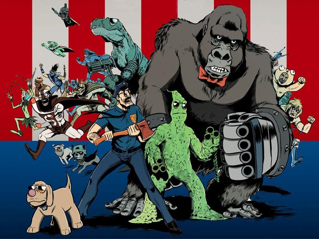 Comics Wallpaper: Axe Cop
