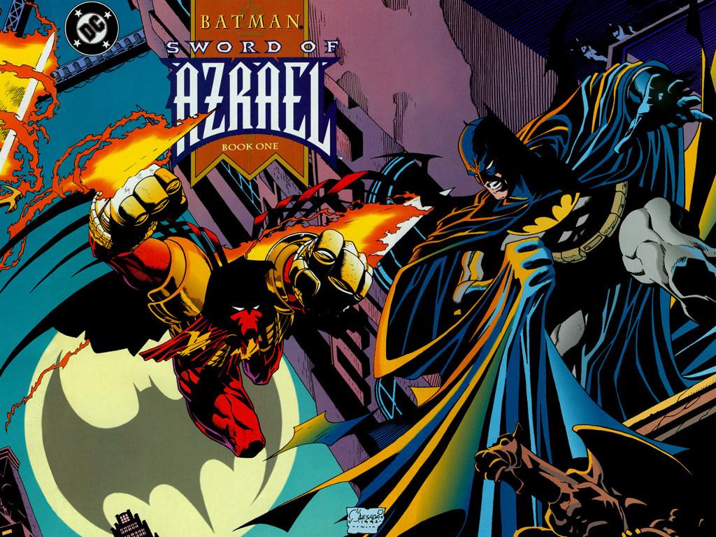 Comics Wallpaper: Azrael
