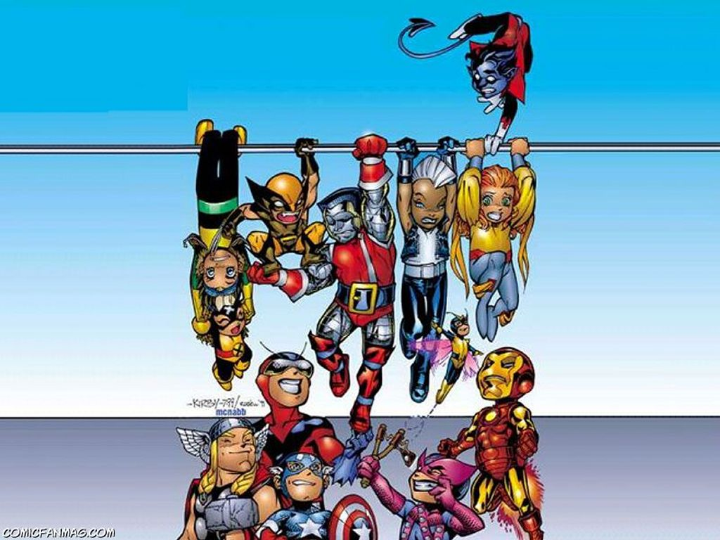 Comics Wallpaper: Babe Heroes