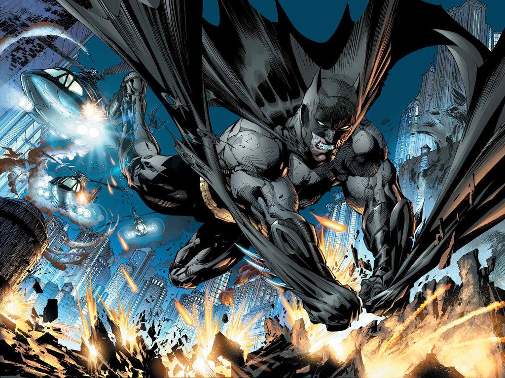 Comics Wallpaper: Batman (by Jim Lee)