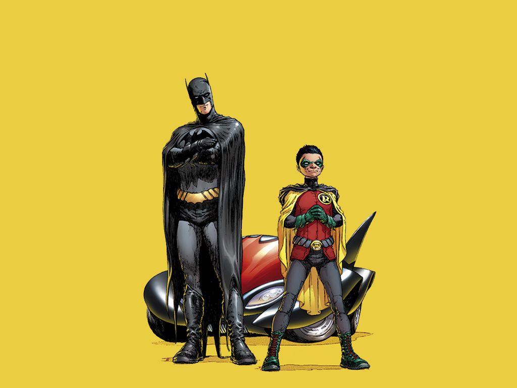 Comics Wallpaper: Batman and Robin (by Grant Morrison)