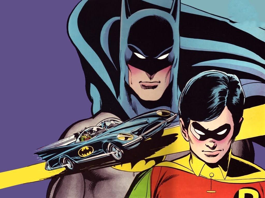 Comics Wallpaper: Batman and Robin (by Neal Adams)