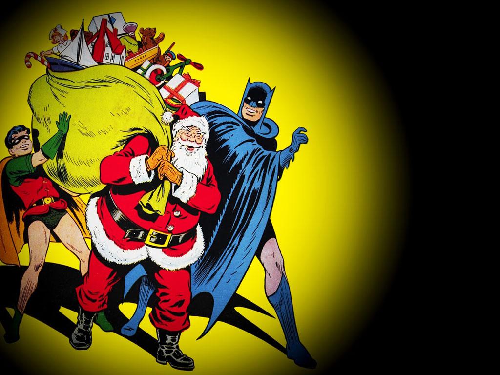 Comics Wallpaper: Batman and Robin - Season Greetings
