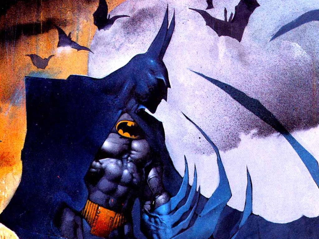 Comics Wallpaper: Batman (by Bisley)