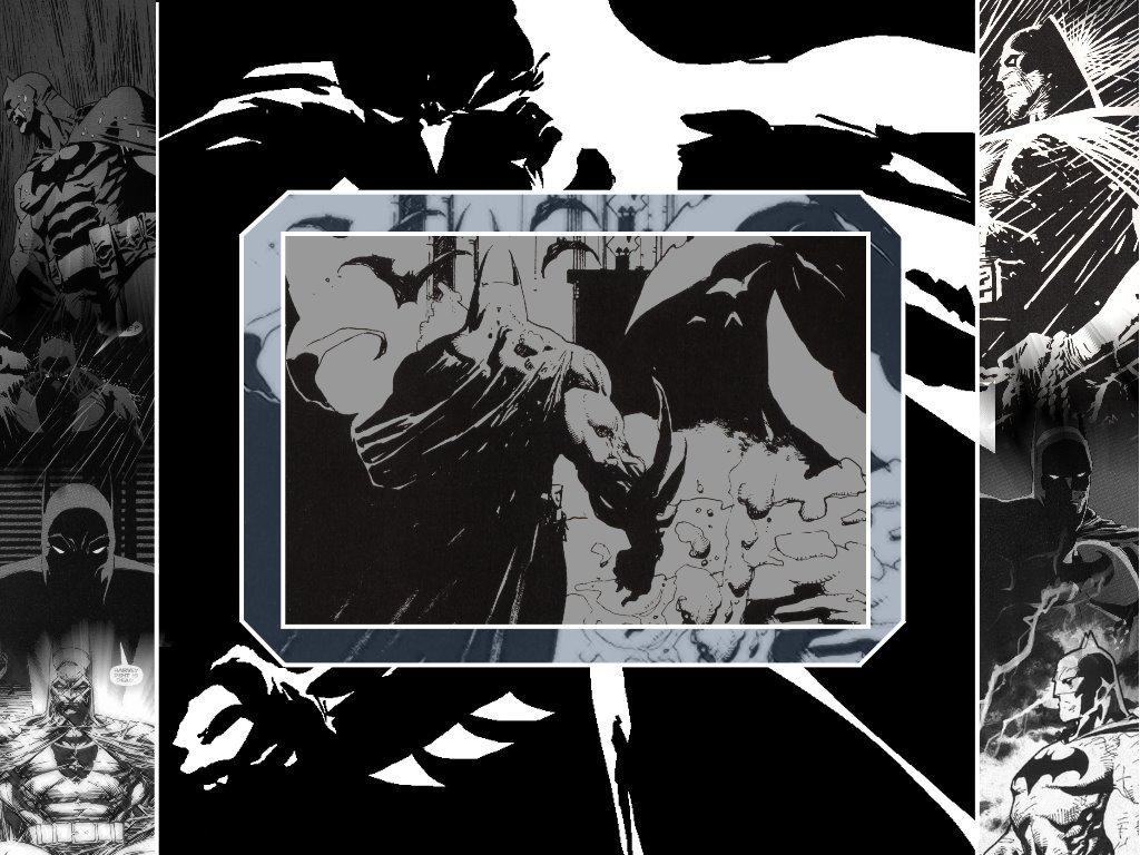 Comics Wallpaper: Batman - Dark Collage
