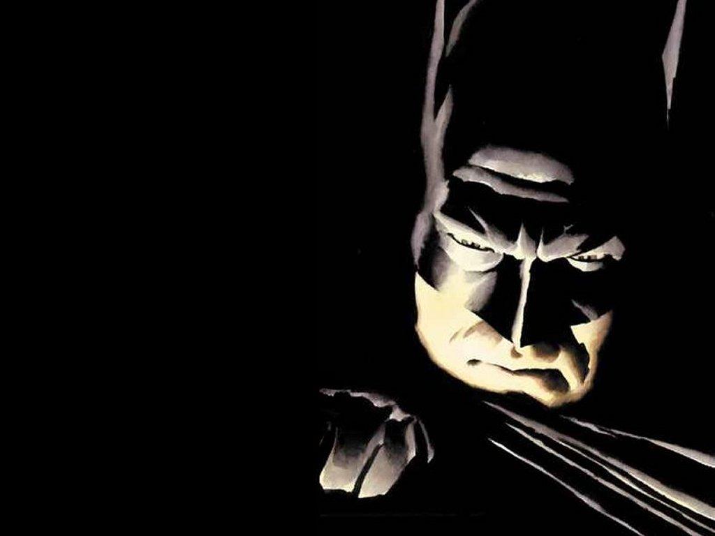 Comics Wallpaper: Batman Face