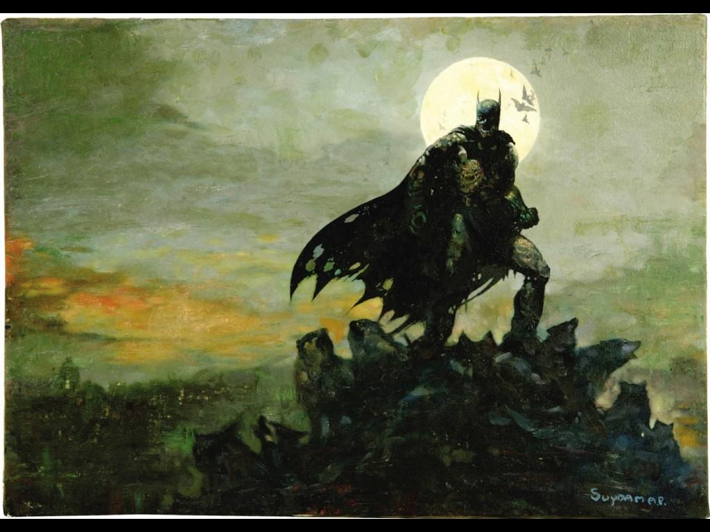 Comics Wallpaper: Batman - Zombie