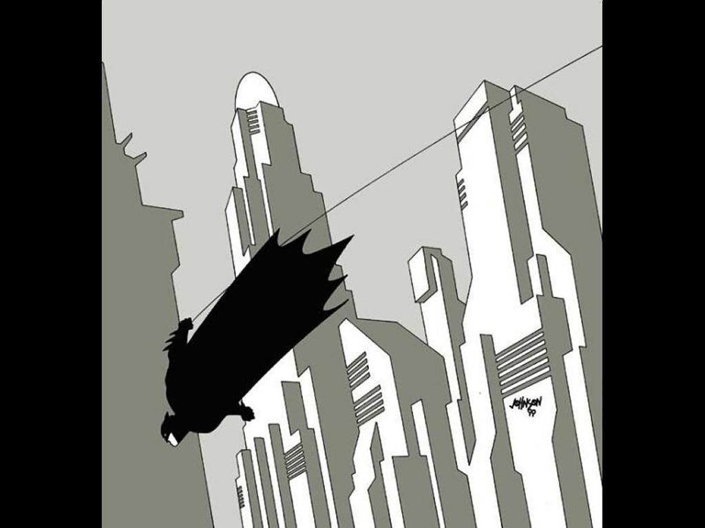 Comics Wallpaper: Batman - Gotham's Future