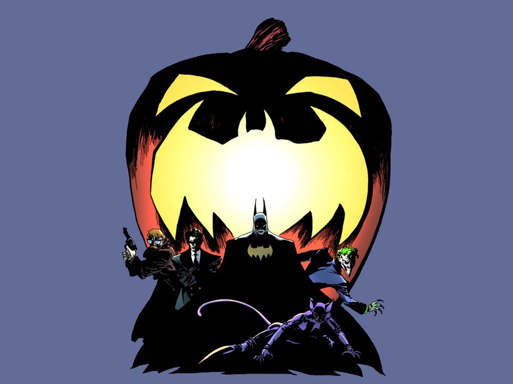 Comics Wallpaper: Batman - Halloween