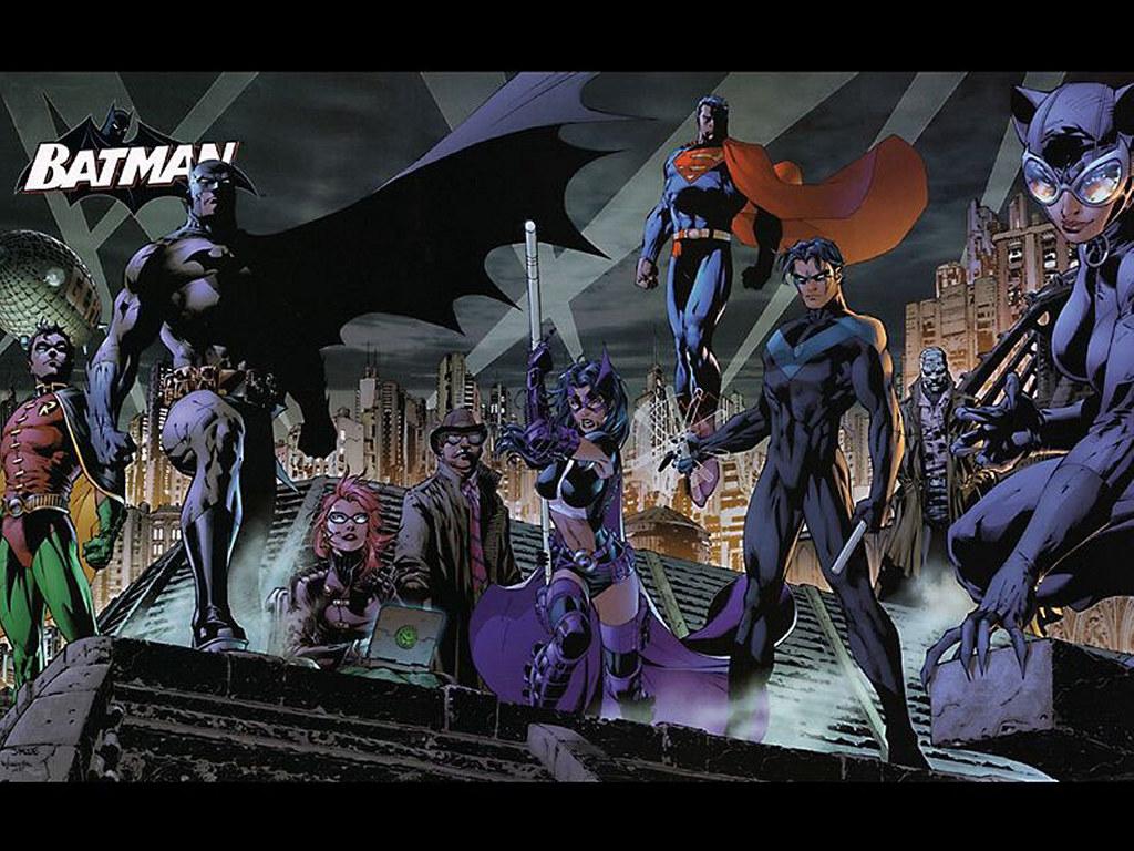 Comics Wallpaper: Batman and Partners