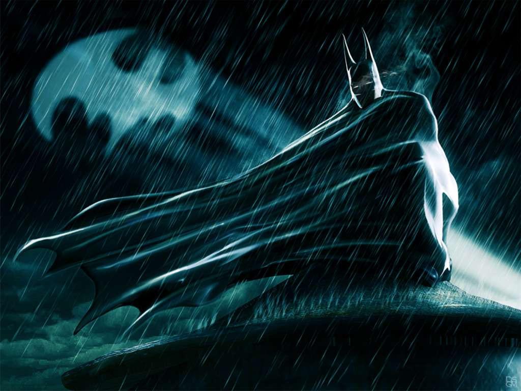 Comics Wallpaper: Batman - Rain
