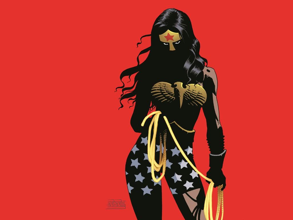 Comics Wallpaper: Wonder Woman - The Dark Knight III