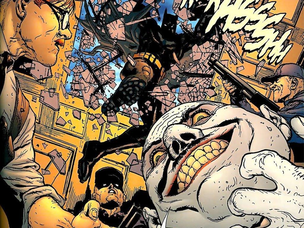Comics Wallpaper: Batman - The Man Who Laughs