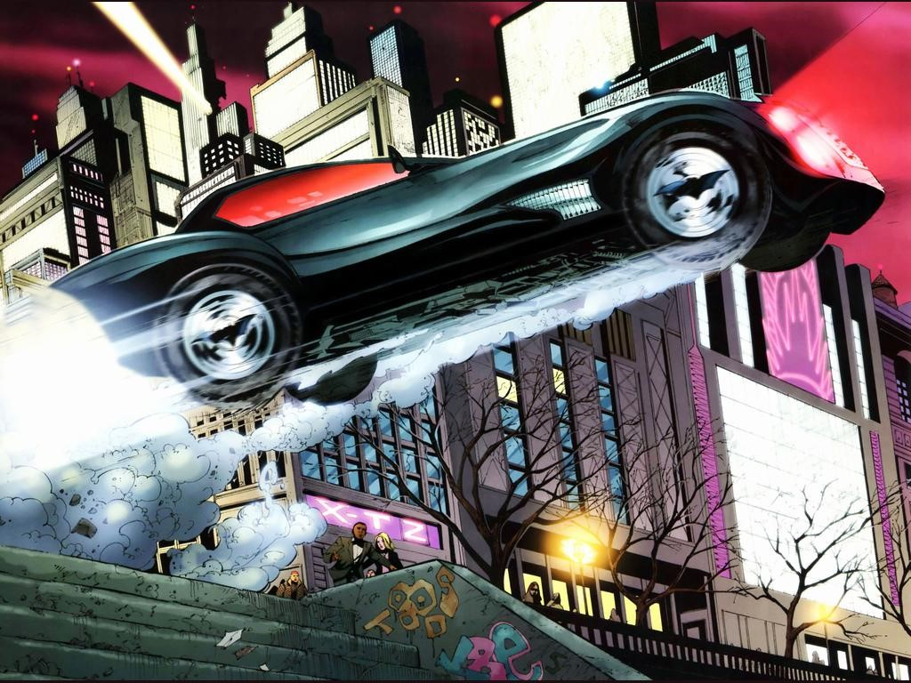 Comics Wallpaper: Batmobile