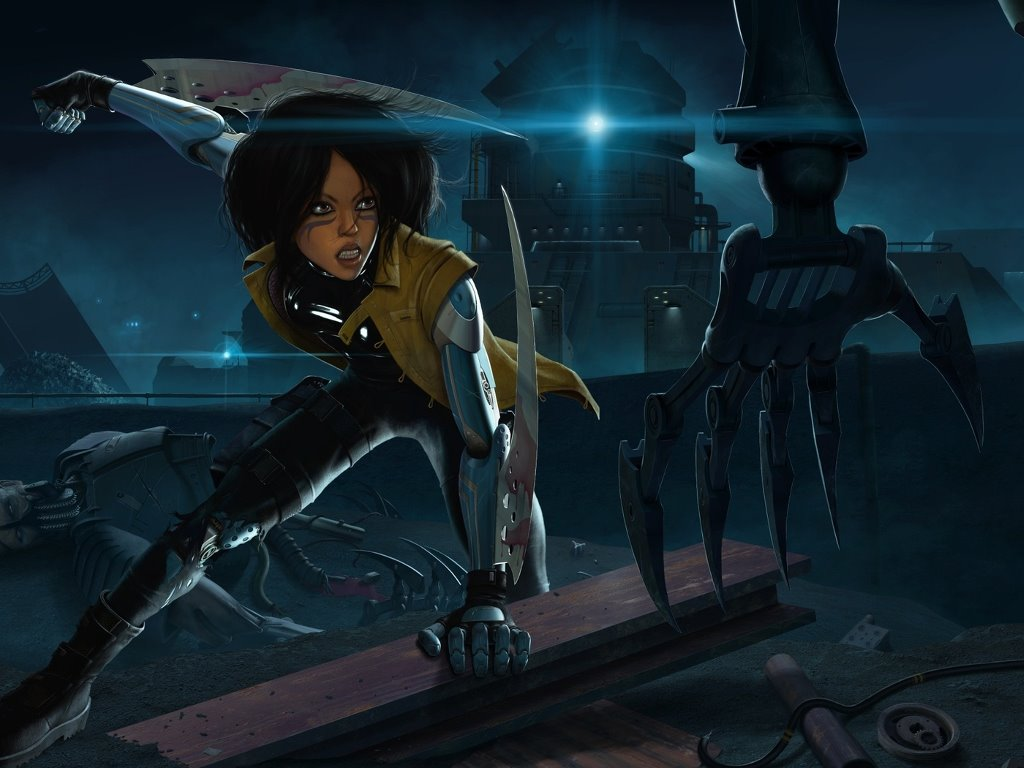 Comics Wallpaper: Battle Angel Alita