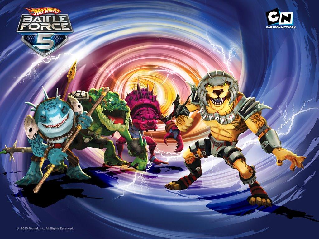 Comics Wallpaper: Battle Force 5 - Villains