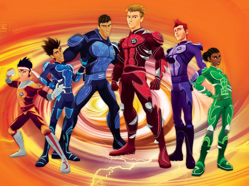 Comics Wallpaper: Battle Force 5