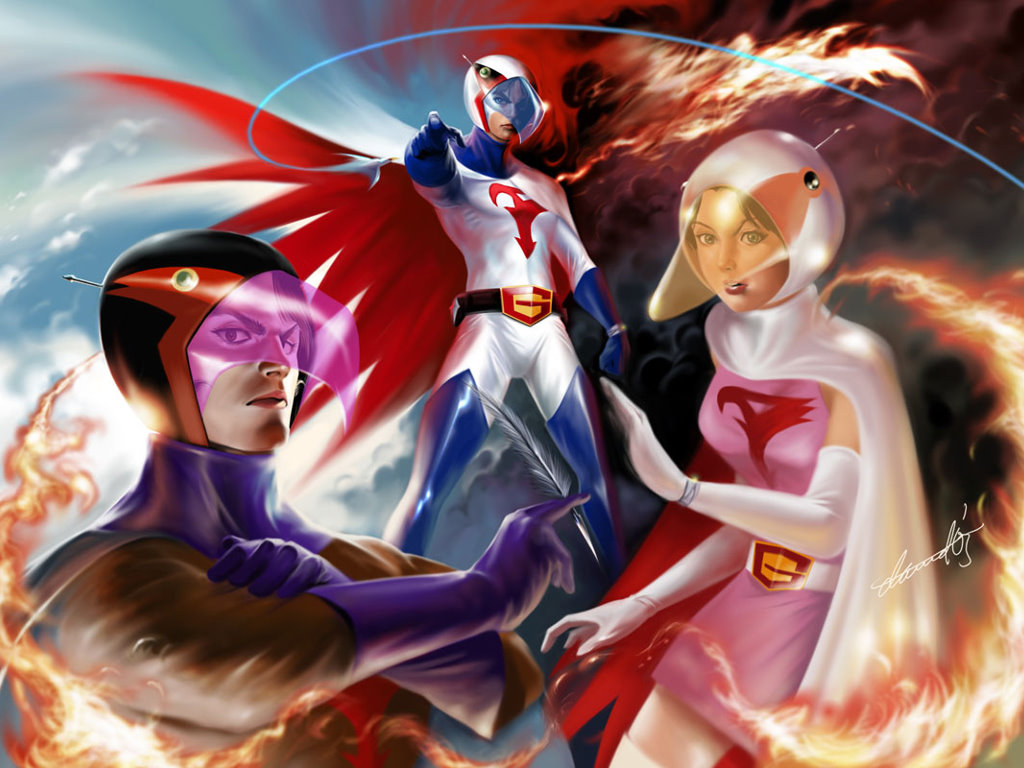 Comics Wallpaper: Battle of the Planets (by Dwinbotp)