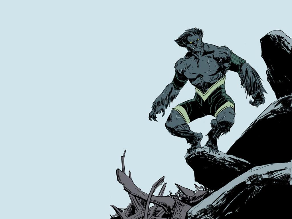 Comics Wallpaper: Beast