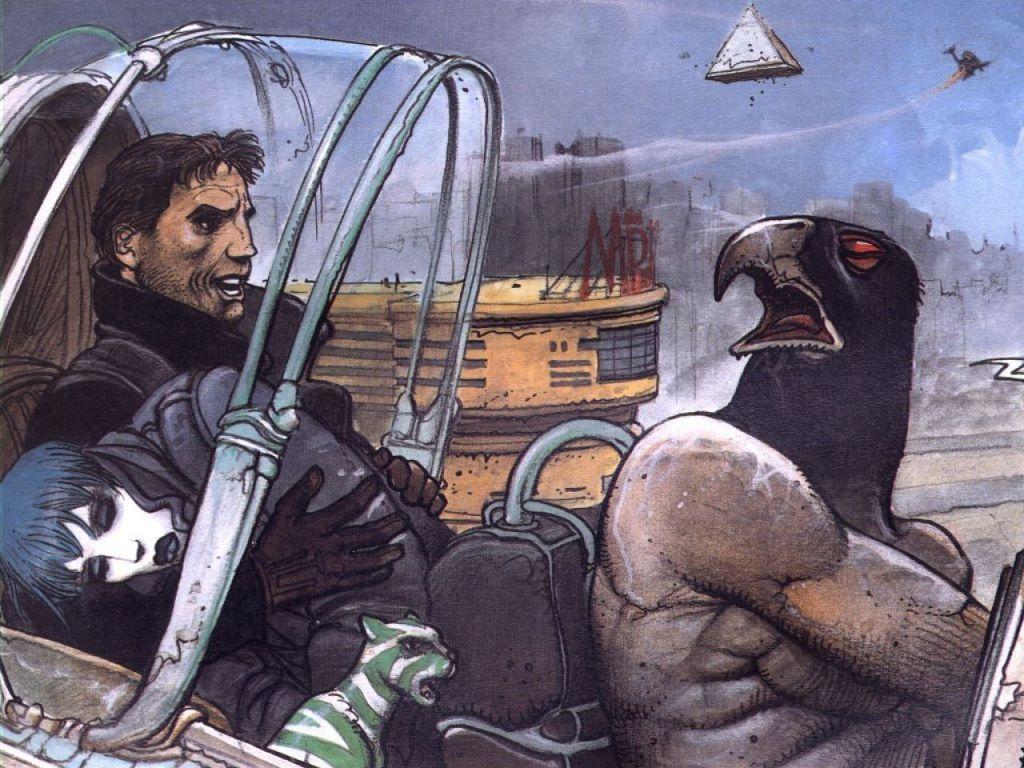 Comics Wallpaper: Enki Bilal - The Nikopol Trilogy