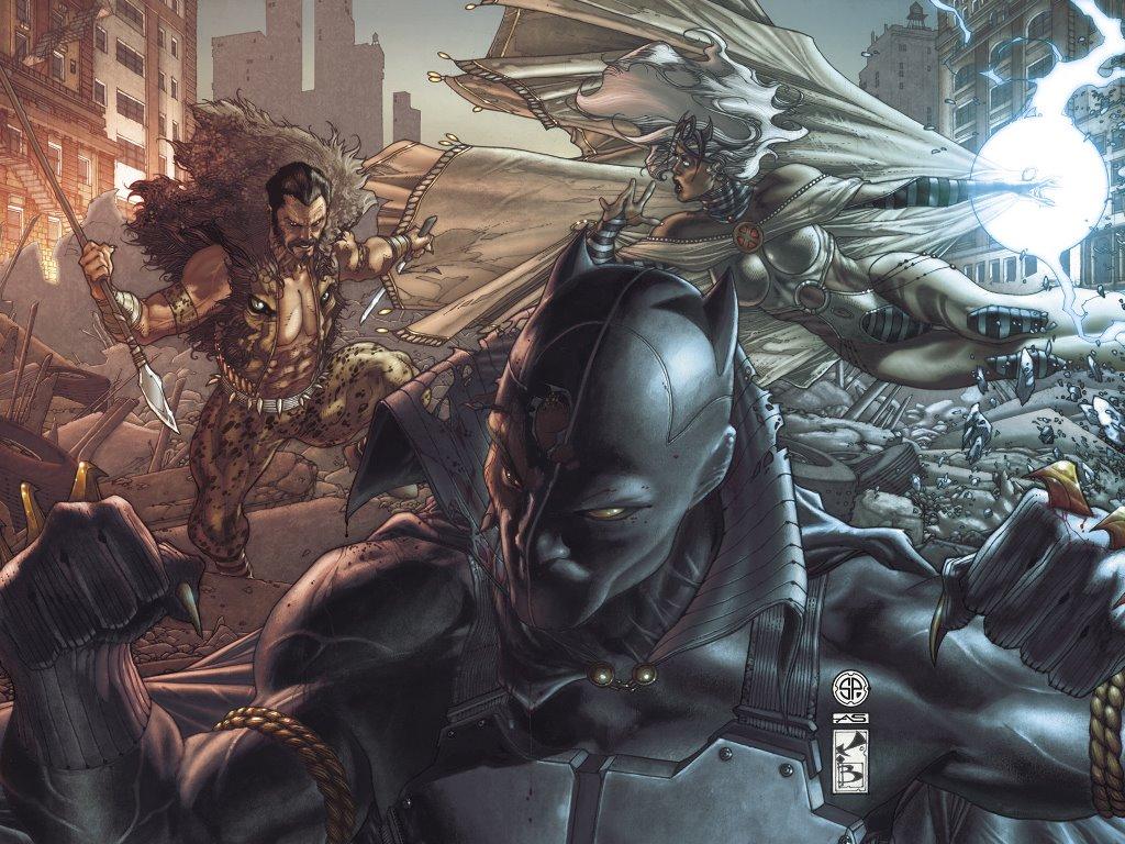 Comics Wallpaper: Black Panther