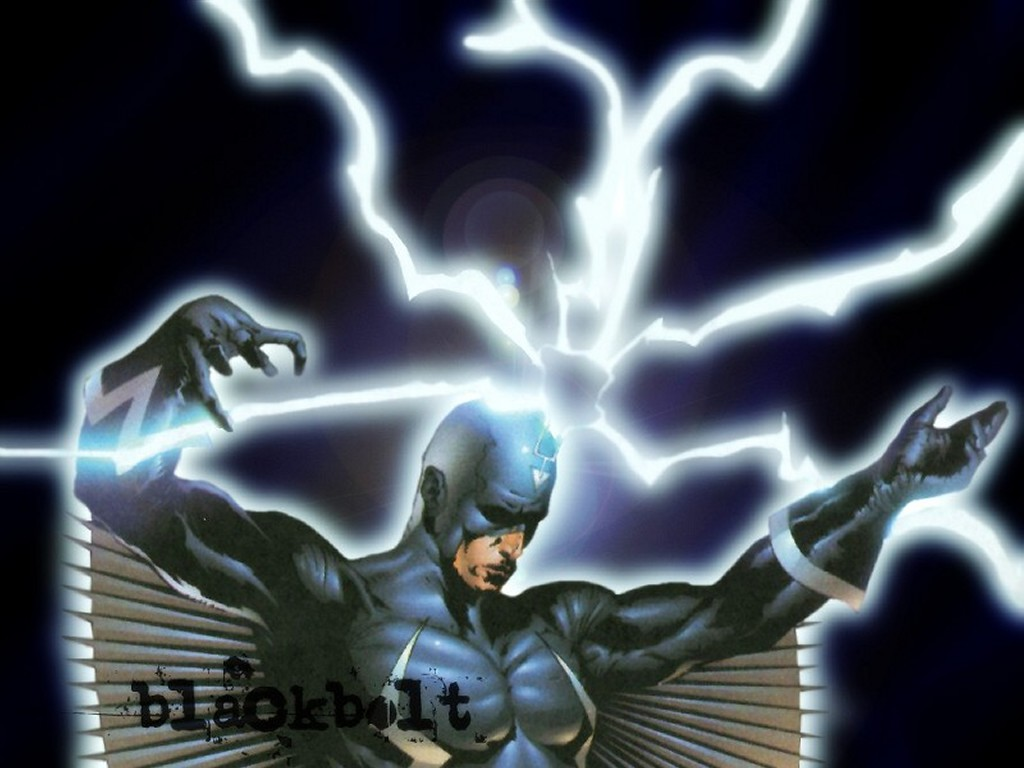 Comics Wallpaper: Blackbolt