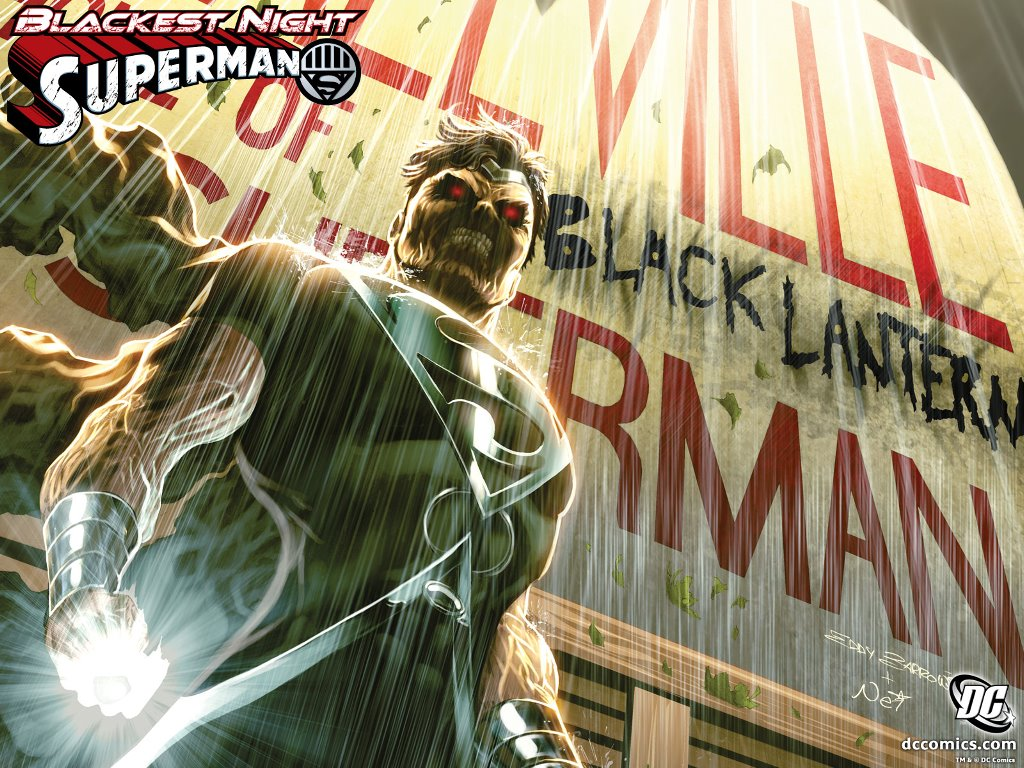 Comics Wallpaper: Blackest Night - Superman
