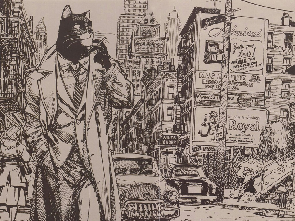 Comics Wallpaper: Blacksad
