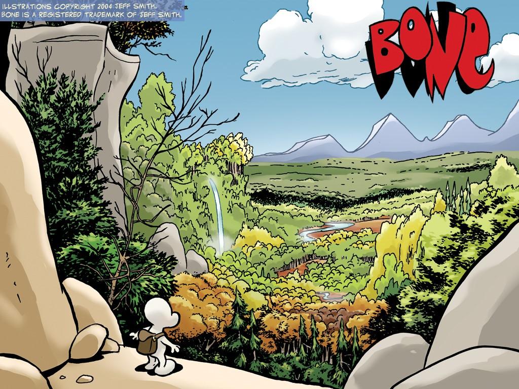 Comics Wallpaper: Bone