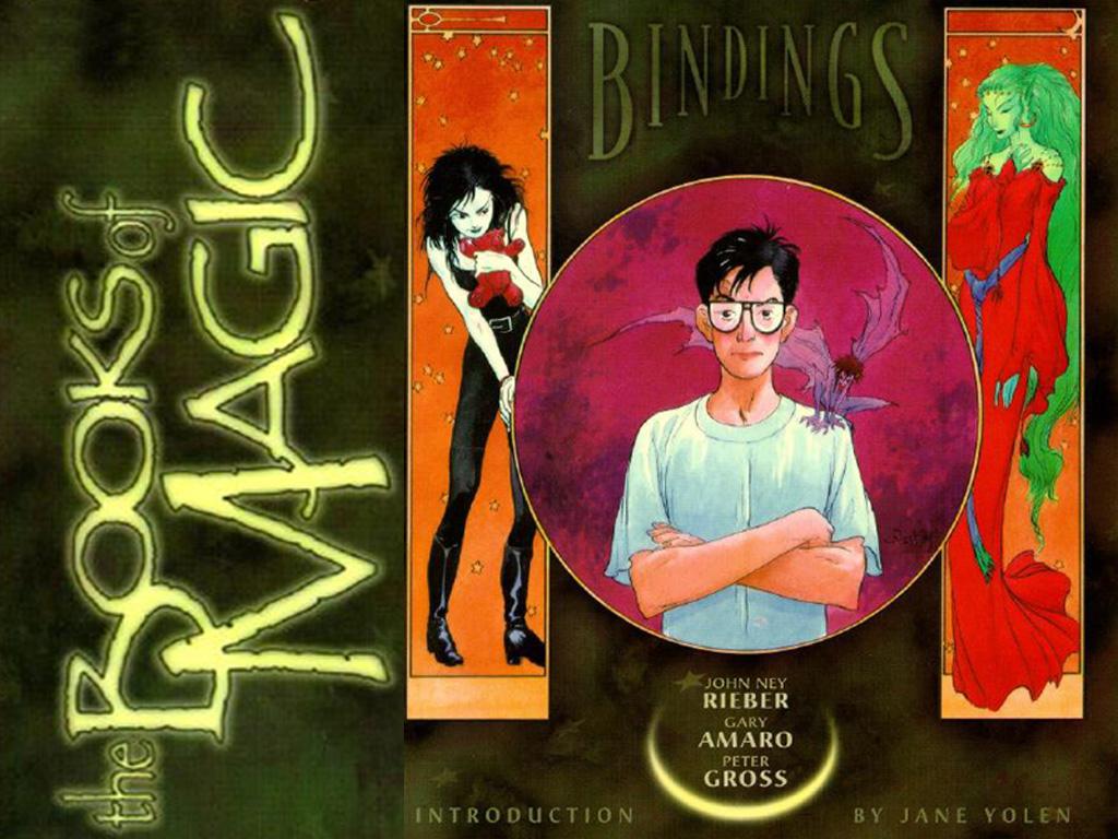 Comics Wallpaper: Books of Magic