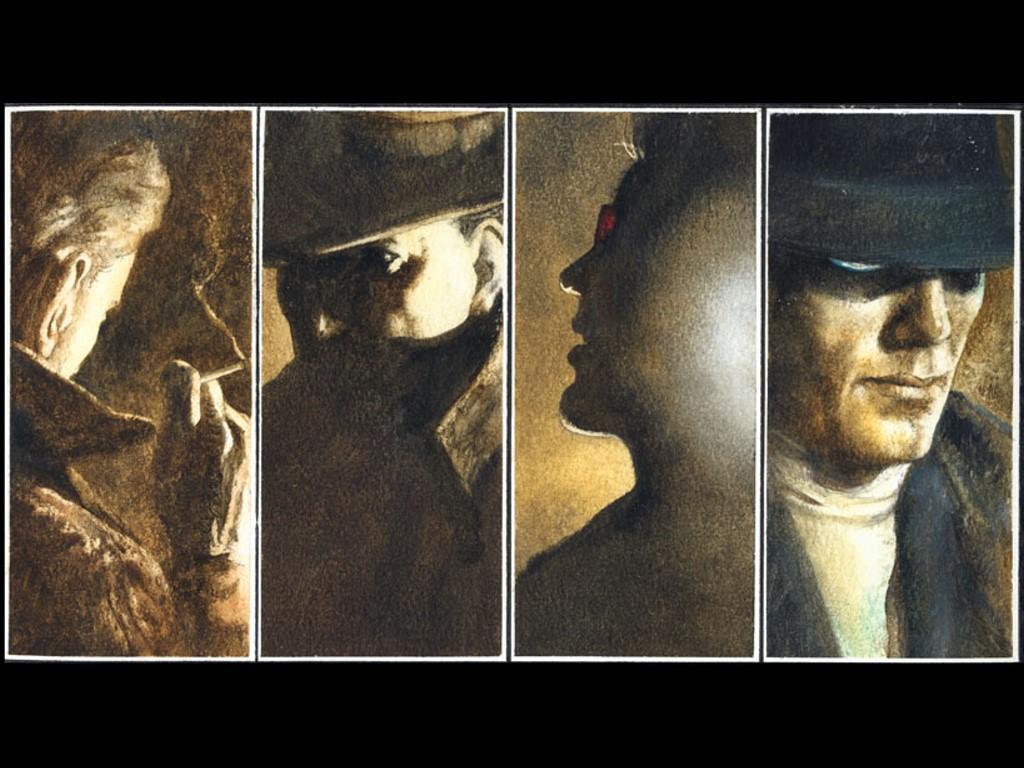 Comics Wallpaper: Books of Magic (by John Bolton)