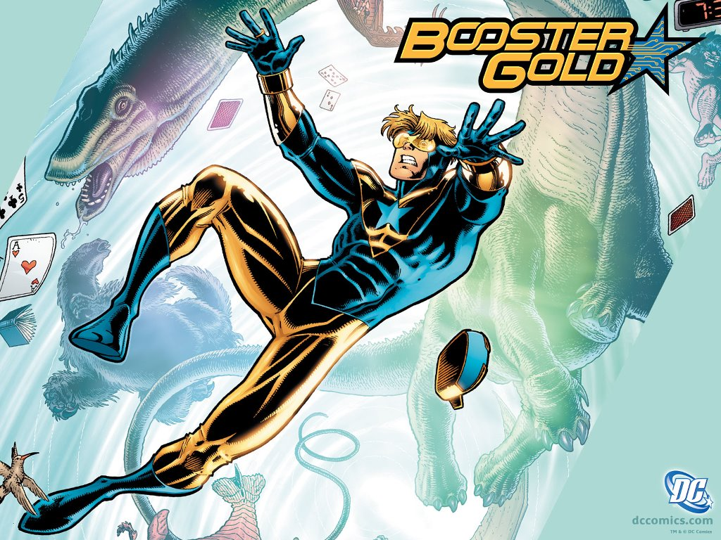 Comics Wallpaper: Booster Gold