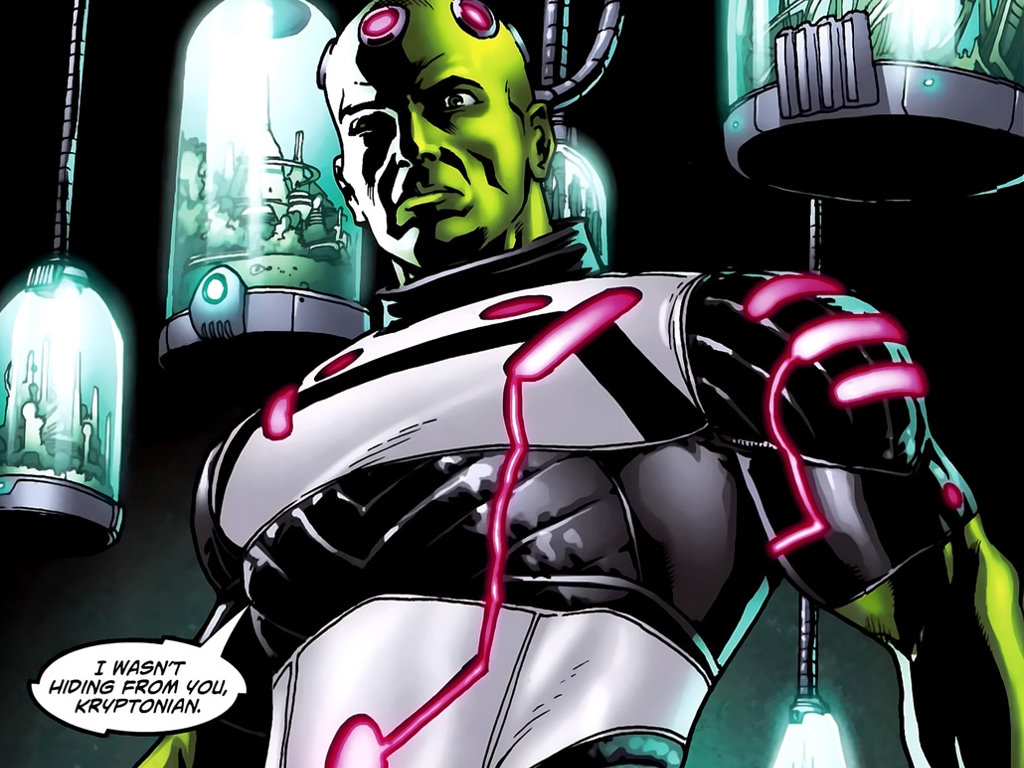 Comics Wallpaper: Brainiac