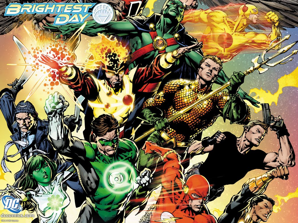 Comics Wallpaper: The Brightest Day