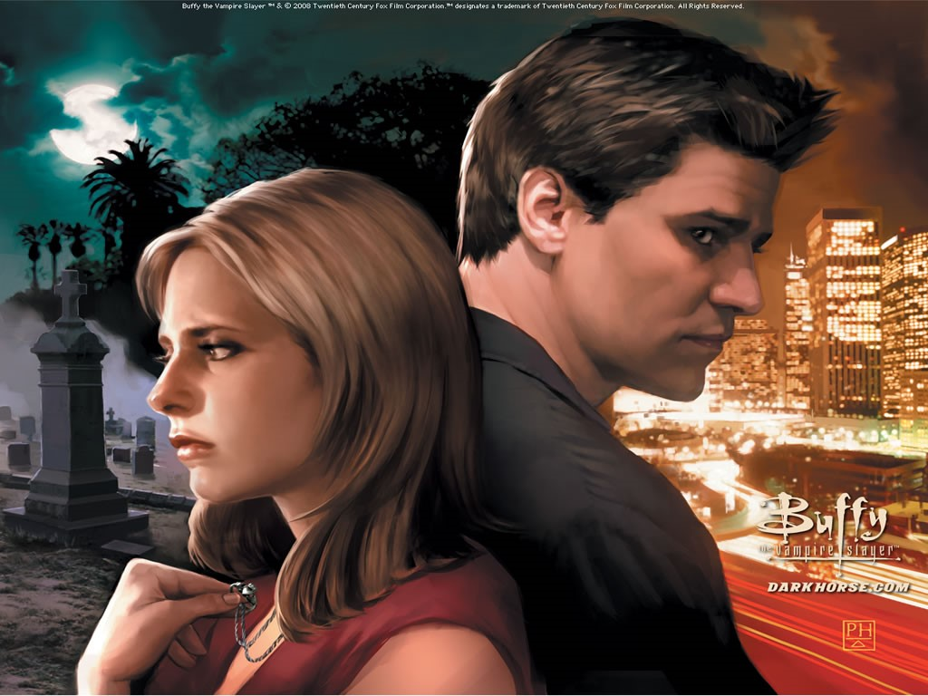 Papel de Parede Gratuito de Quadrinhos : Buffy - The Vampire Slayer