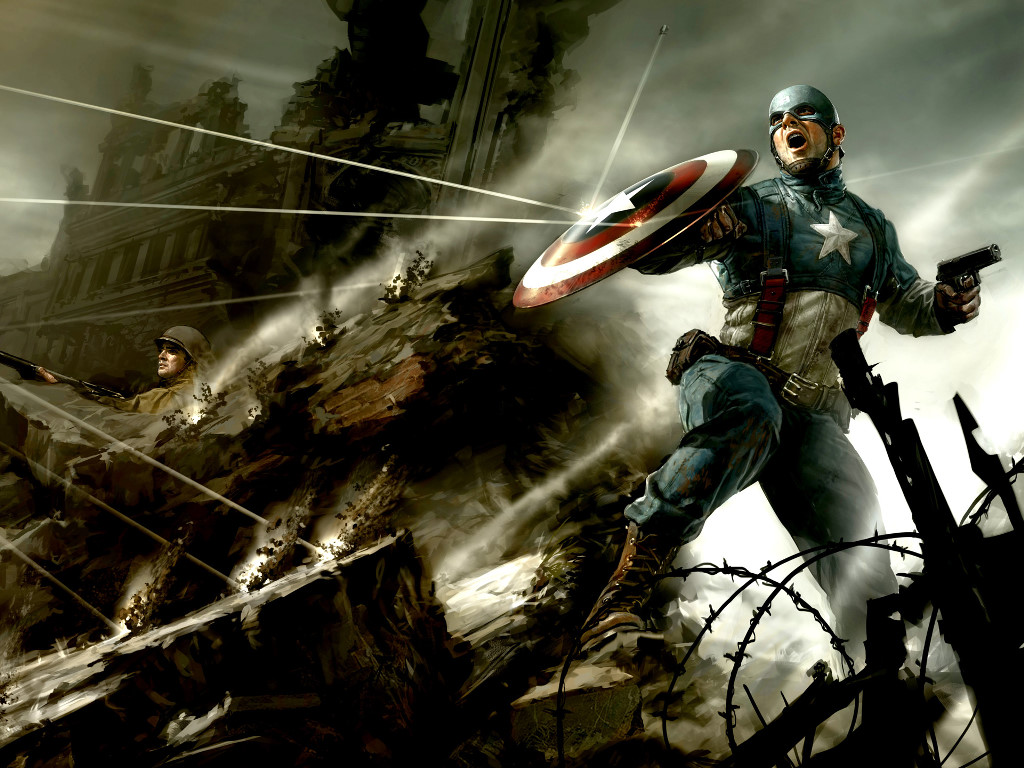 Comics Wallpaper: Captain America - World War II