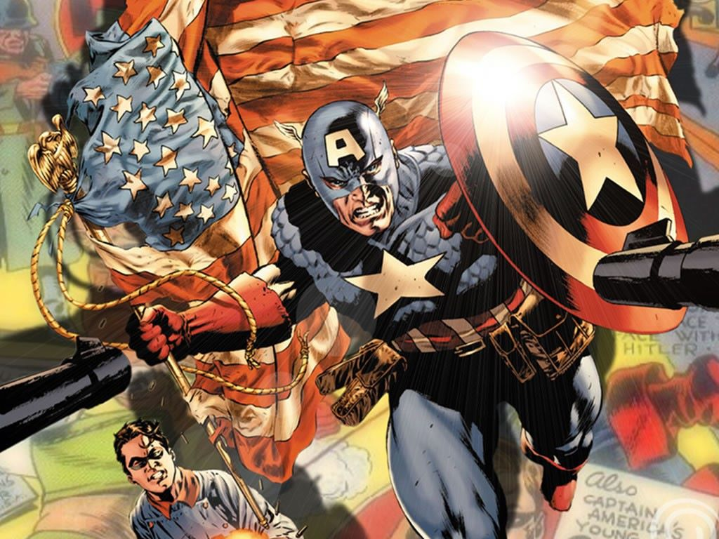 Comics Wallpaper: Captain America and Bucky