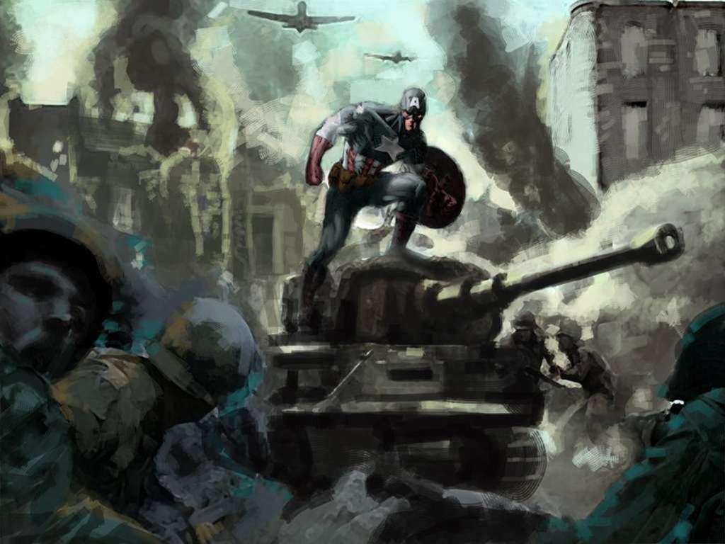 Comics Wallpaper: Captain America - World War II