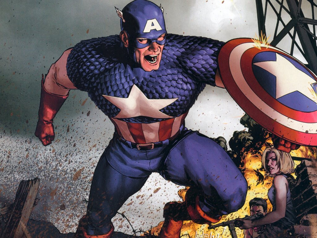 Comics Wallpaper: Captain America