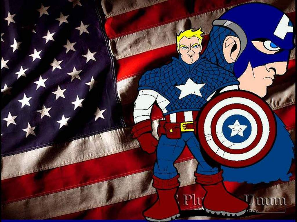 Comics Wallpaper: Captain America - Toon